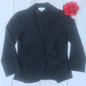 Coldwater Creek Black Dress Jacket Size 6